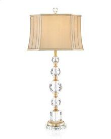 Briolette Crystal Table Lamp