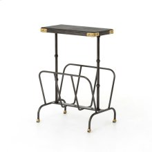 Bosco Magazine Rack-ebony/waxed Black