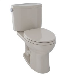 Drake® II Two-Piece Toilet, 1.28 GPF, Elongated Bowl - Bone