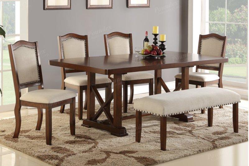 Additional Elegant 6 Piece Dining Room Set