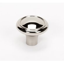 Classic Traditional Knob A1562 - Polished Nickel