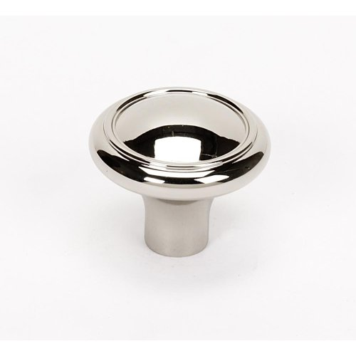 Classic Traditional Knob A1562 - Polished Nickel
