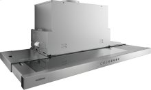200 series visor hood AF 210 791 Stainless steel frame Width 35 3/8'' (90 cm) Air extraction / recirculation