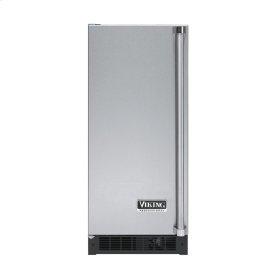 """Stainless Steel 15"""" Solid Door Beverage Center - VUAR (Left Hinge Solid Door)"""