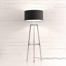 Nickel Finish Lewis Floor Lamp