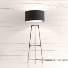 Nickel Finish Lewis Floor Lamp