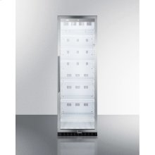 Commercial Beverage Merchandiser With 12.6 CU.FT. Capacity, Digital Thermostat, Self-closing Door, and Stainless Steel Cabinet; Replaces Scr1400css