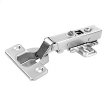 Bright Nickel Full Overlay Soft Close Concealed Cabinet Hinge with 105 Degree Opening Angle