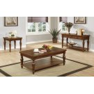 Warm Brown Occasional Tables Set of Three Product Image