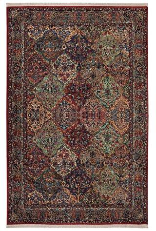 Multicolor Panel Kirman - Rectangle 10ft x 14ft