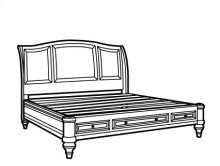 Brendon King Sleigh Bed with Storage