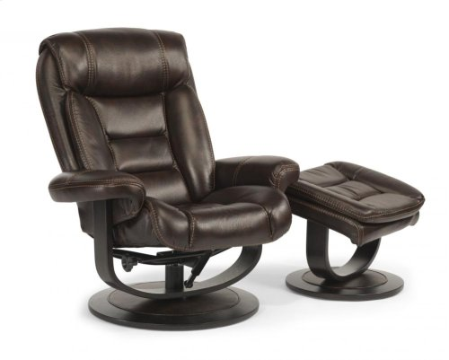 Hunter Fabric Chair and Ottoman