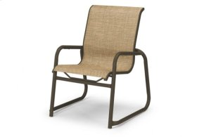 Stacking Sled Base Arm Chair