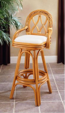 New Twist Bar Stool 30in
