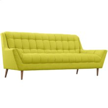 Response Upholstered Fabric Sofa in Wheatgrass