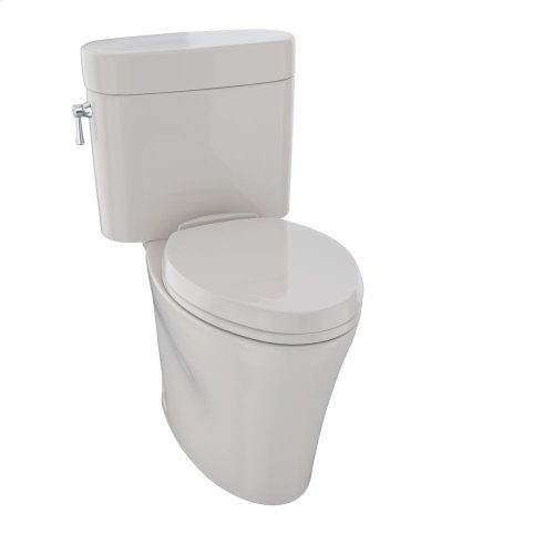 Eco Nexus® Two-Piece Toilet, 1.28 GPF, Elongated Bowl - Sedona Beige
