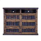 Finca Dresser TV Stand with Reclaimed Wood Panels Product Image