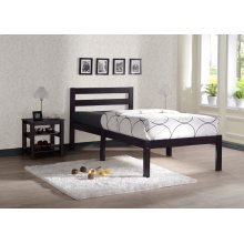 Wengy 3pc Twin Bed