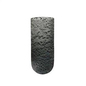 """Distresssed Glass 12.5"""" Vase, Multi"""
