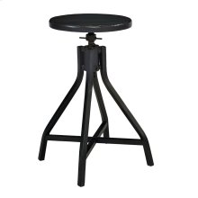 Jo's Black Swivel Stool
