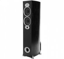 Compact Floor Standing Speaker in Black