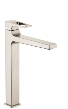 Brushed Nickel Single-Hole Faucet 260 with Loop Handle, 1.2 GPM