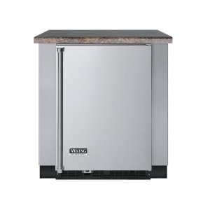 """Viking30""""D. Undercounter Refrigeration Base - VURO Outdoor Stainless Steel Cabinets"""