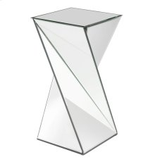 Twisted Mirrored End Table Product Image