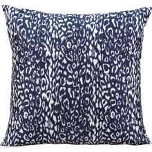 "Outdoor Pillow As524 Navy 20"" X 20"" Throw Pillow"