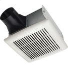 Flex DC Series Humidity Sensing Bathroom Exhaust Fan with selectable CFM Settings Product Image