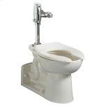 American StandardPriolo 1.1-1.6 gpf ADA EverClean Universal Flushometer Toilet - White