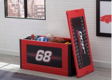Turbo Store and Organize Toy Box, Red - Red (620)