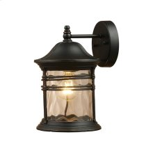 Madison 1-Light Od Wall Sconce in Matte Black