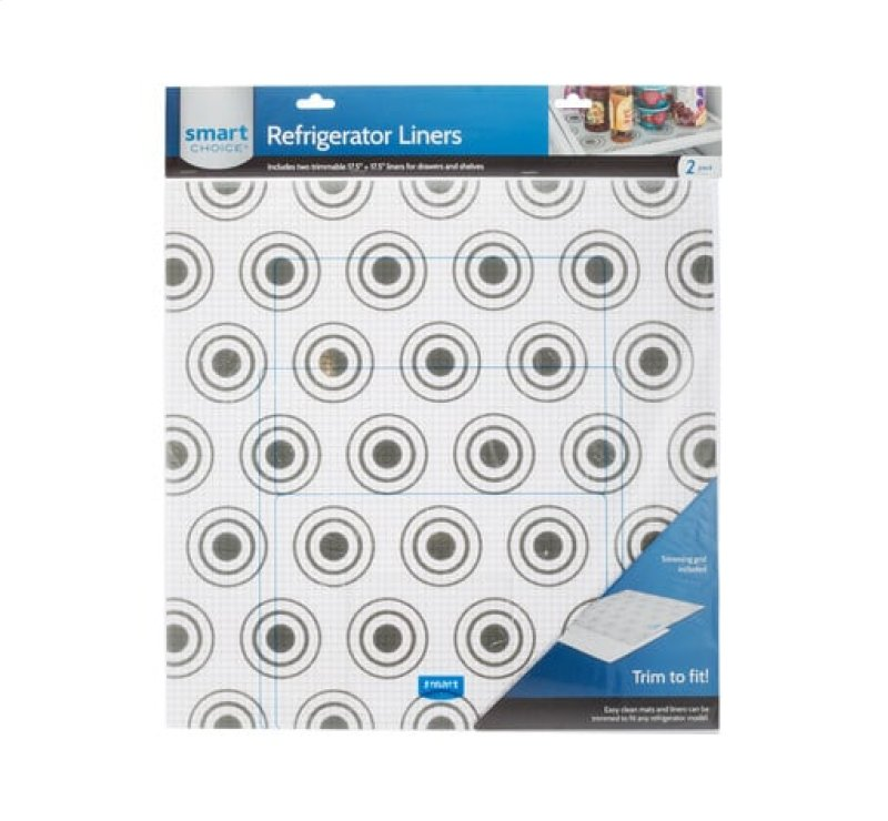 5304503588 In By Frigidaire Rusville Ky Trim To Fit Refrigerator Liner Grey Circles 2 Pack