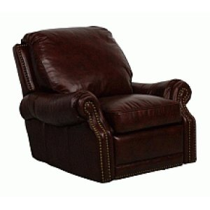 5-6600 Premier II Recliner (Leather) 5407-41 Stetson Coffee
