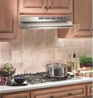 """24"""", Stainless Steel, Under Cabinet Hood, Non-ducted"""