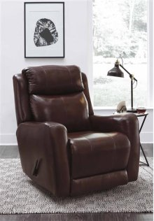 Rocker Recliner with Optional Swivel Base Upgrade