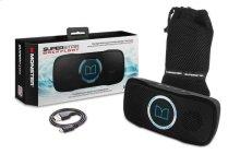 SuperStar BackFloat Waterproof Bluetooth Speaker - Neon Blue