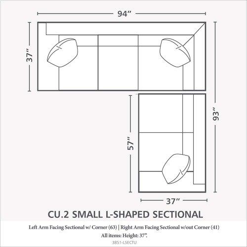 CU.2 L-Shaped Sectional
