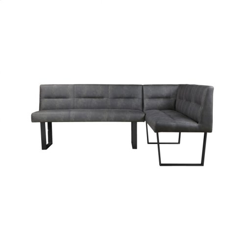 Hanlon Corner Bench Black