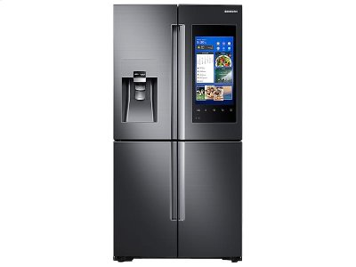 22 cu. ft. Capacity Counter Depth 4-Door Flex Refrigerator with Family Hub (2017) Product Image