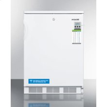 ADA Compliant General Purpose Refrigerator-freezer With Dual Evaporator Cooling, Traceable Thermometer, Internal Fan, and Front Lock