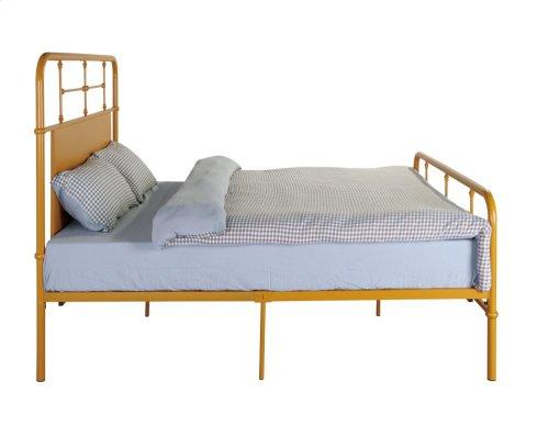Emerald Home Fairfield Metal Bed Butterscotch B202-08hbfbrbrn
