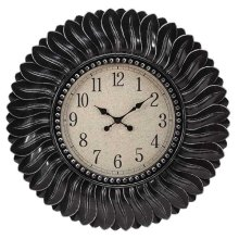 CLOCK ANTIQUE BLACK
