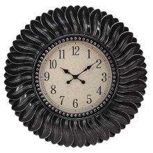 CLOCK ANTIQUE BLACK