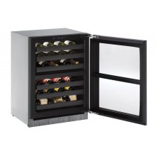 Modular 3000 Series 60 Cm Wine Cellar With Integrated Frame Finish and Field Reversible Door Swing (220-240 Volts / 50 Hz)