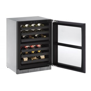 U-LineModular 3000 Series 60 Cm Wine Cellar With Integrated Frame Finish and Field Reversible Door Swing (220-240 Volts / 50 Hz)