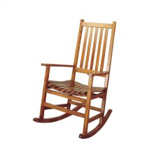 Traditional Wood Rocking Chair