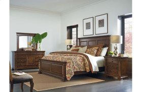 Monteri King Panel Bed - Complete