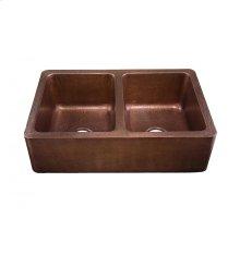 Corniglia Antique Copper Kitchen Sink